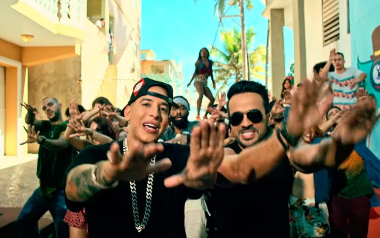 "Despacito é a música mais ""streamada"""