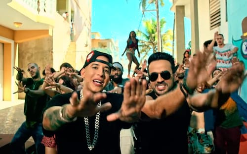 Despacito já é a mais tocada via streaming