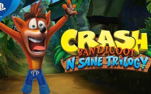 Activison informa que o remaster de Crash Bandicoot é mais difícil