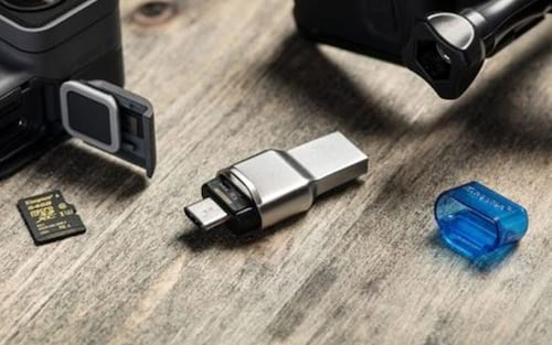 Kingston lança leitor de cartão micro SD com conector USB tipo C