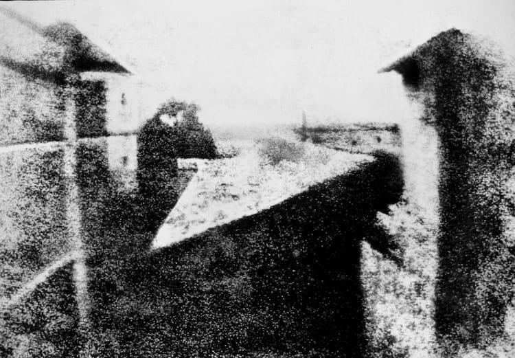 A foto mais antiga já feita, de 1826