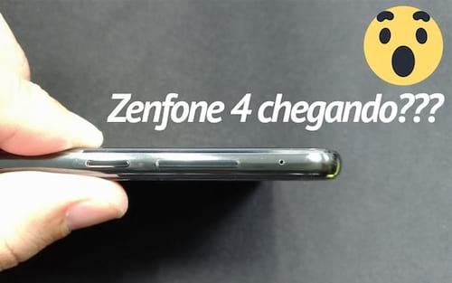 Vazou uma nova foto do Zenfone 4