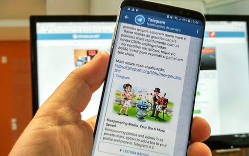 Telegram conta agora com recurso de fotos autodestrutivas