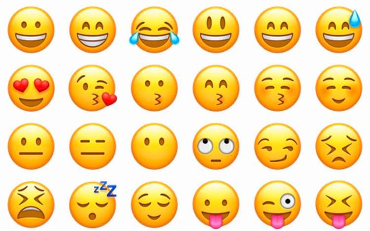 Senhas com emojis