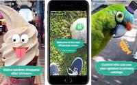 Snapchats do WhatsApp e Instagram já contam com 500 milhões de usuários diários