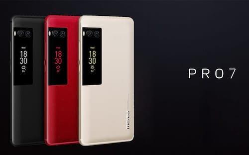 Meizu Pro 7 e  Meizu Pro 7 Plus podem ser adquiridos a partir do dia 05 de agosto