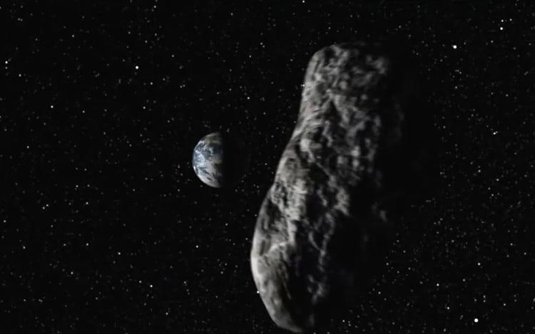 """Asteroide 2017 001 """"raspa"""" a Terra"""