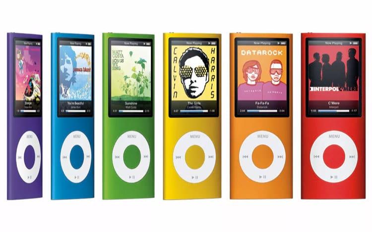 iPhone substituiu o iPod