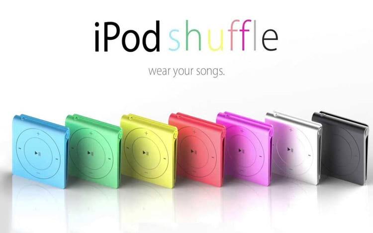 Apple anuncia o fim da fabricação do iPod Shuffle