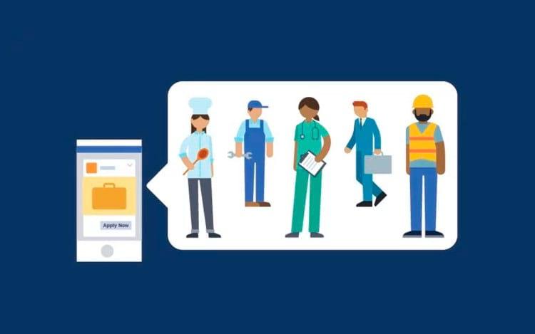 Facebook disponibiliza ferramenta de busca de emprego
