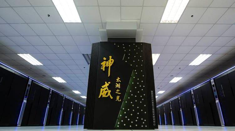 O Sunway YaihuLight, dedicado a pesquisas meteorológicas, de engenharia, medicinais e farmacêuticas