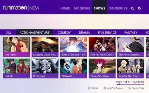Sony adquire distribuidora de animes Funimation