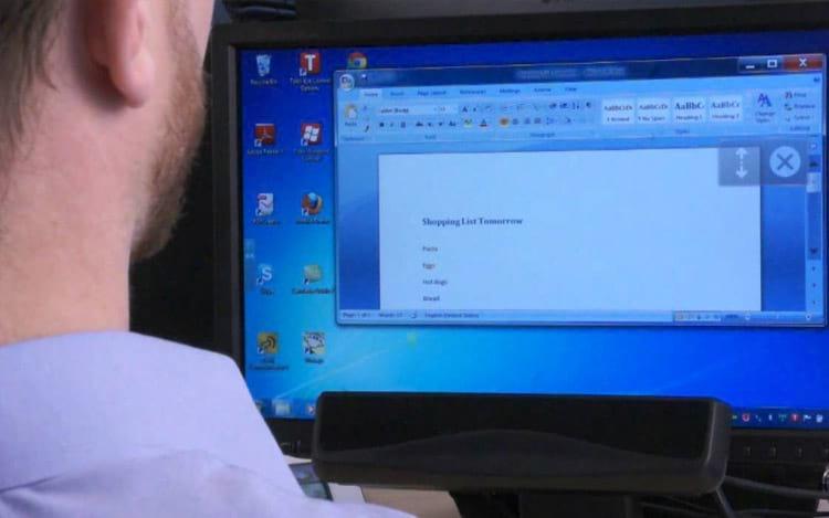 Deficientes neuromusculares poderão usar Windows 10 com os olhos