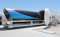 Hyperloop atingiu 308Km/h em novo teste