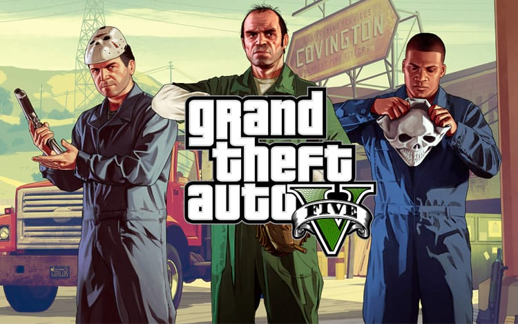 GTA V foi lançado há quatro anos e continua rendendo muito para empresa