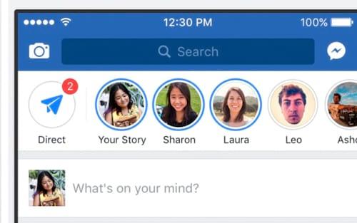 Facebook deve adicionar recurso Stories na versão desktop