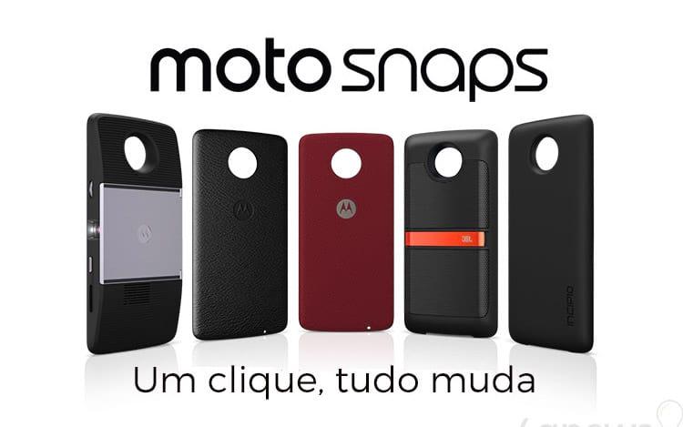 Moto Snaps fazem parte da promoção