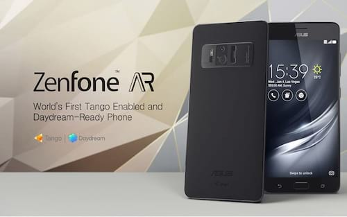 ASUS começa a vender ZenFone AR nos Estados Unidos