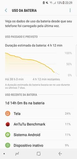 Bateria Galaxy S8