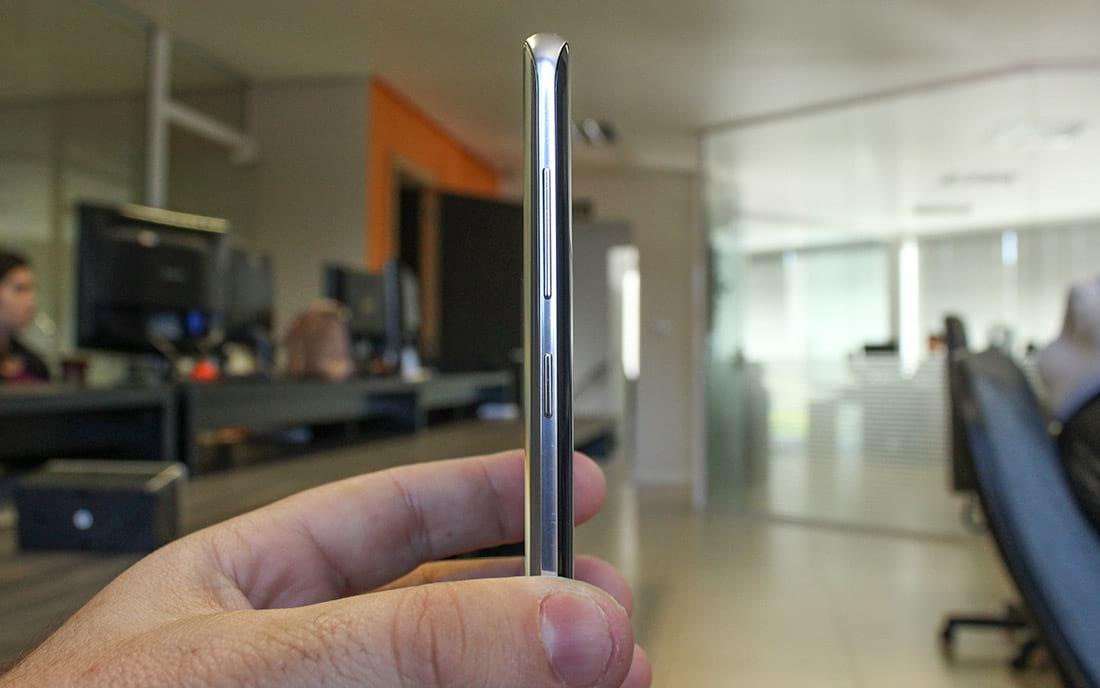 Samsung Galaxy S8 botões de volume e botão bixby