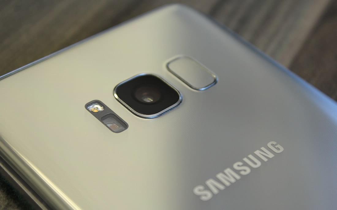 Samsung Galaxy S8 face traseira, sensores e câmera