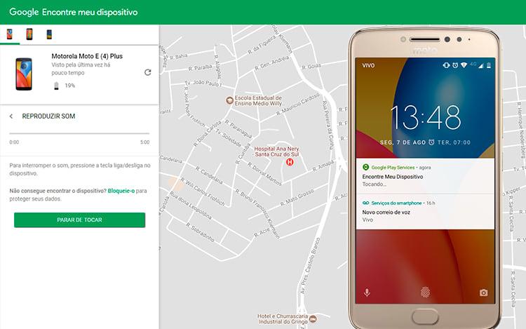 localizar celular pelo google windows phone