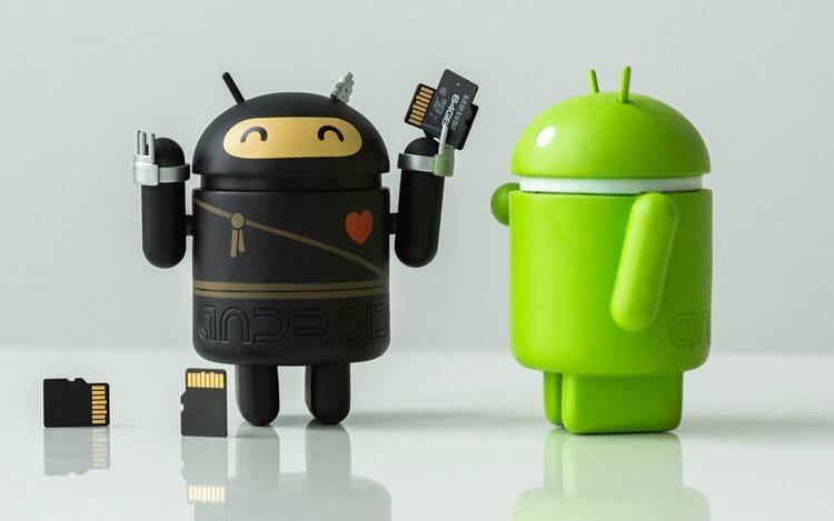 Resolução do problema de espaço no Android