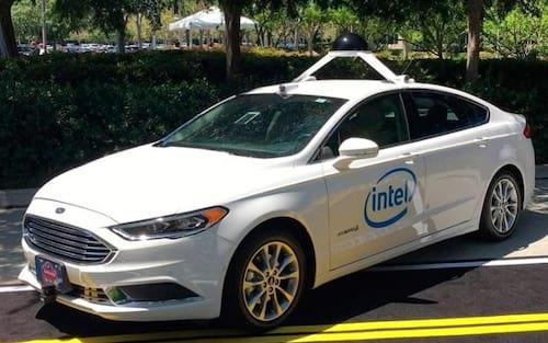 Intel pretende montar frota de 100 carros autônomos ainda em 2017