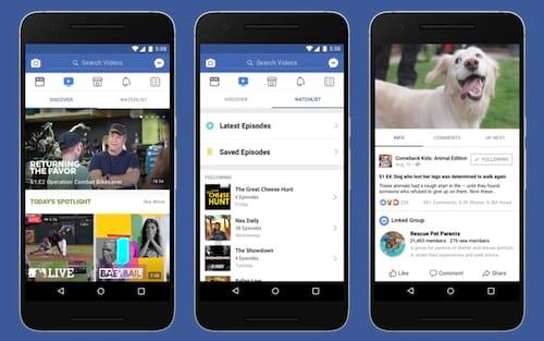 Facebook lança o Watch: concorrente para o YouTube
