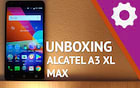 Vídeo: Unboxing do Alcatel A3 XL Max - Telefonão