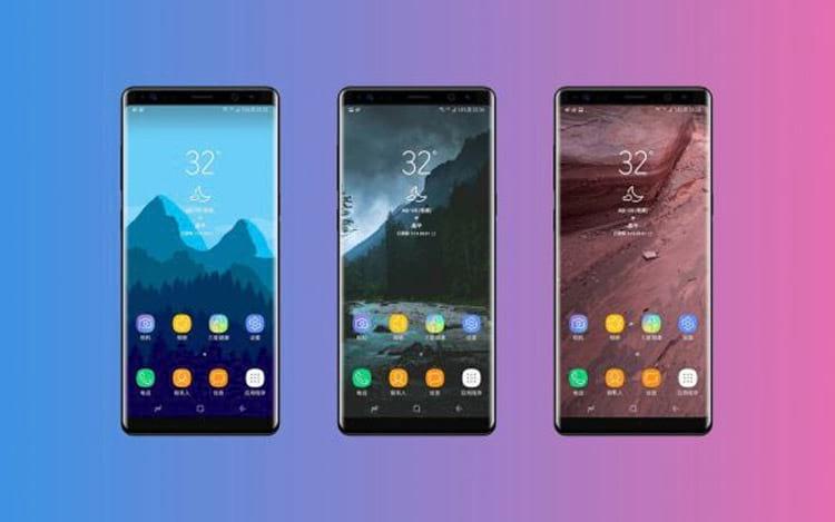 Novo smartphone da Samsung chegando