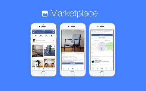 Facebook lança um Marketplace concorrente do eBay dentro da rede social