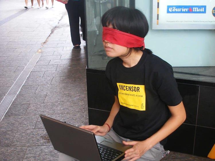 Um típico usuário chinês de internet