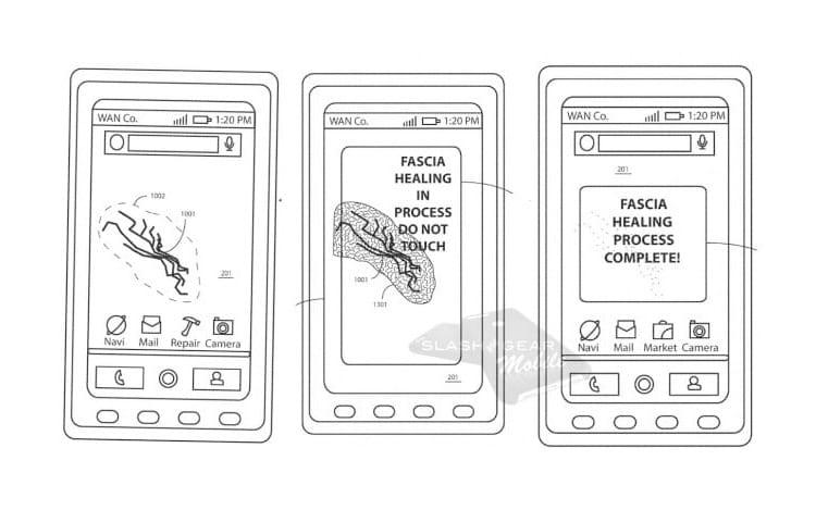 Patente da Motorola mostra smartphone com autorreparação térmica