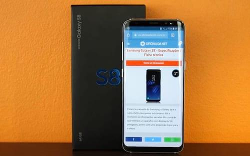 Samsung Galaxy S8 é o aparelho Android mais vendido no mundo