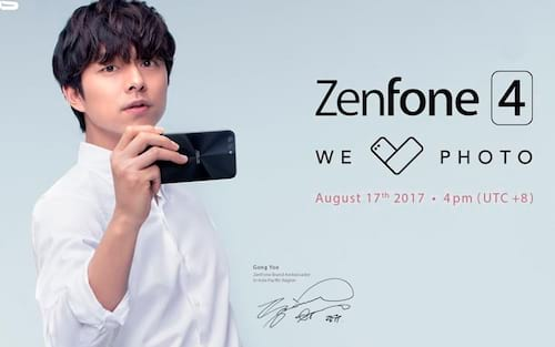 AO VIVO: Evento de lançamento do Zenfone 4