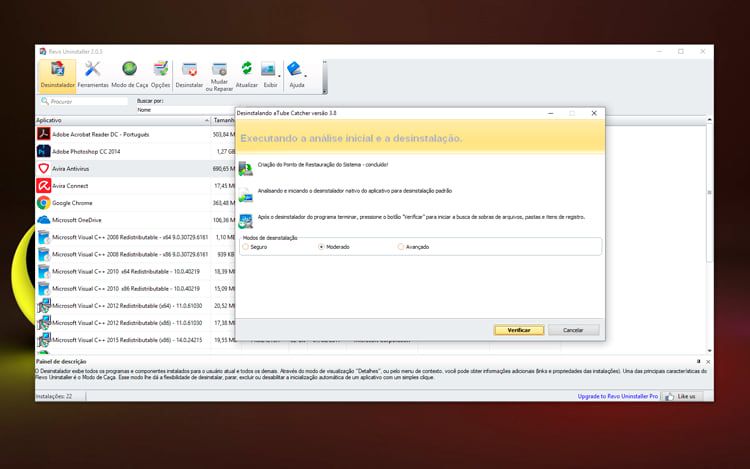 Como desinstalar programas por completo no Windows
