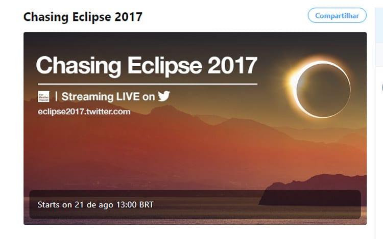 Transmissão ao vivo pelo Twitter