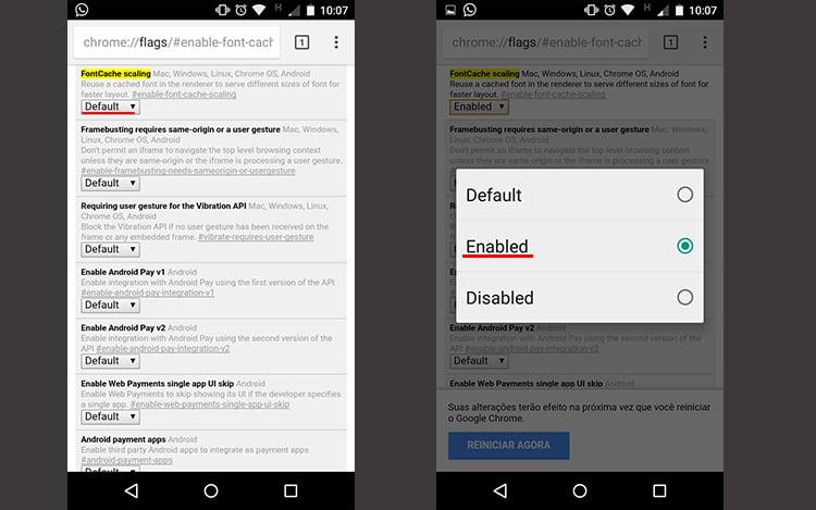 Como acelerar o Google Chrome no seu Smartphone