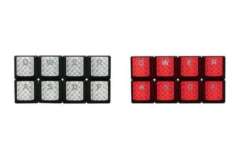 HyperX lança kit de teclas texturizadas com novas cores para personalizar teclados gamers
