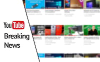 YouTube inicia os testes de Breaking News