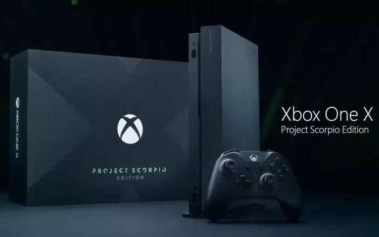 Console da Microsoft, Xbox One X Project Scorpio chega em novembro