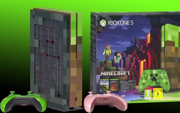 Xbox One S Minecraft Edition