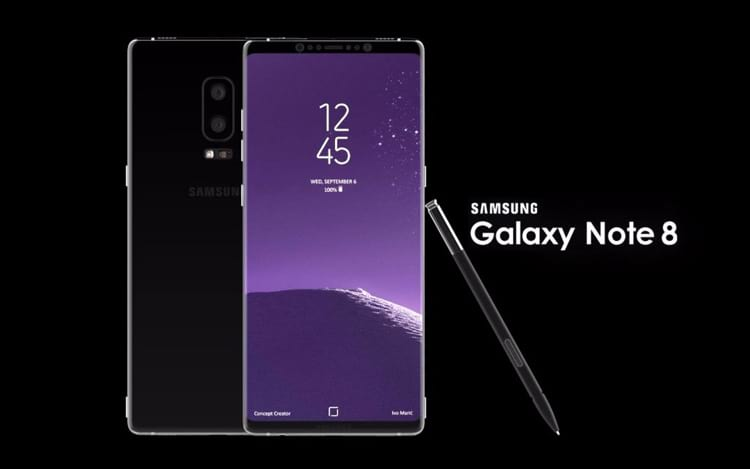 Galaxy Note 8 por US$ 1200