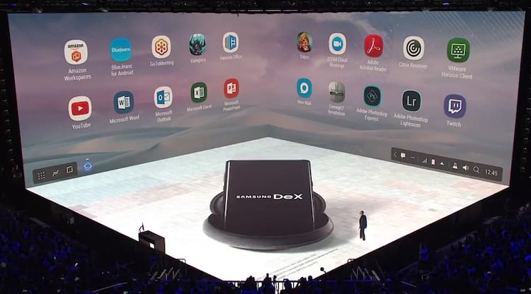 Galaxy Note 8: Samsung Dex presente no Note 8