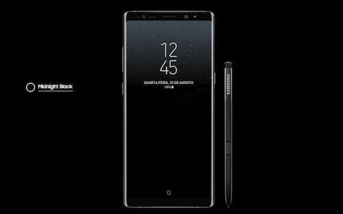 Chegou o Galaxy Note 8 com 6GB de RAM e câmera traseira dupla