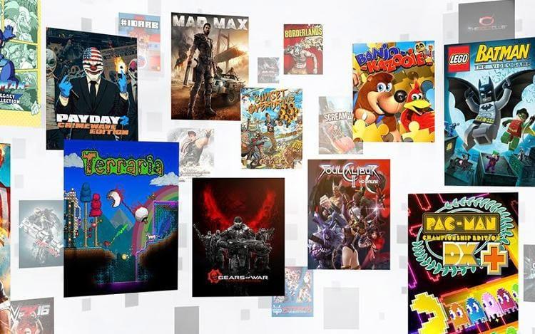Catálogo conta com mais de 100 games