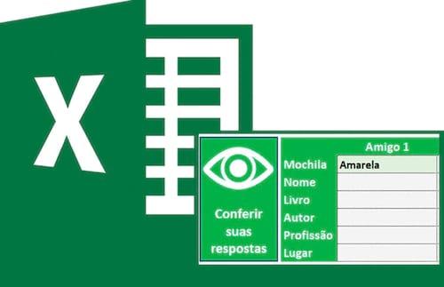 Problema de lógica da biblioteca no Excel