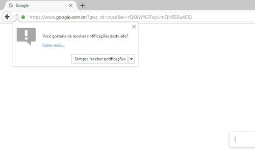 Como desativar as notificações do seu navegador