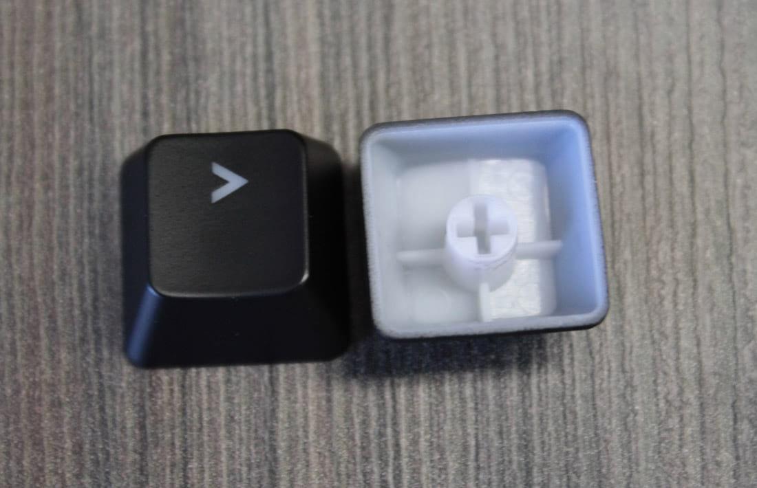 Keycaps do MasterKeys Pro S